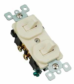 Hook up double pole switch
