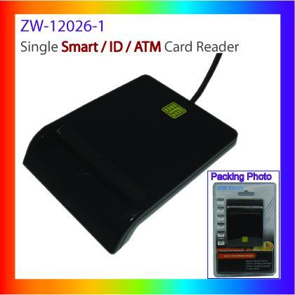 Ccid USB Smart Card Reader/Writer for ID Card, ATM (ZW-12026-1)