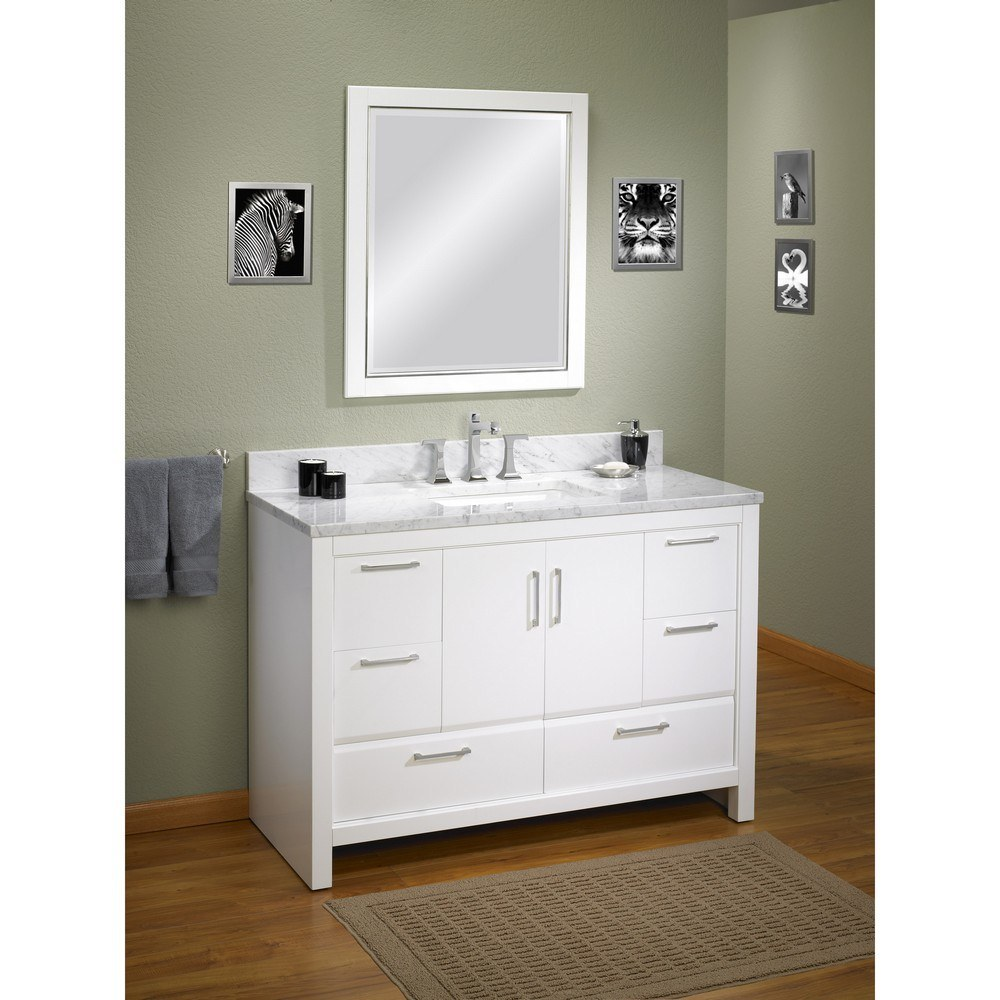 China modern transitional bathroom vanity cabinet bc 63 for Bathroom cabinets modern