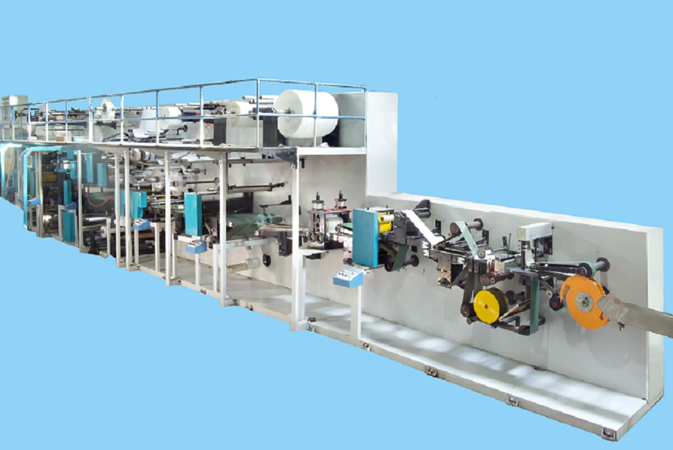 The Economical Type of Adult Diaper Machine