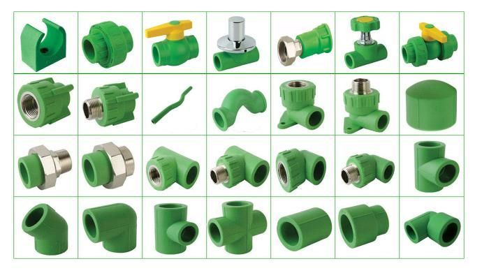 China ppr fitting green