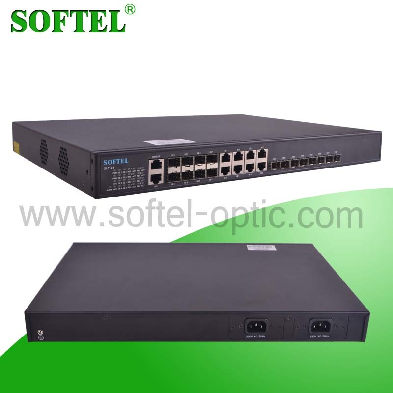 Gepon 8 Pon Ports Olt for FTTH Network