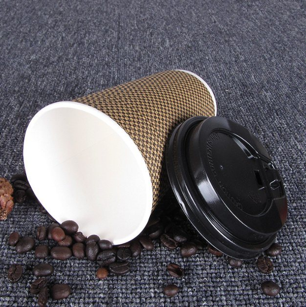 4oz Ripple Paper Cup for Hot Beverage