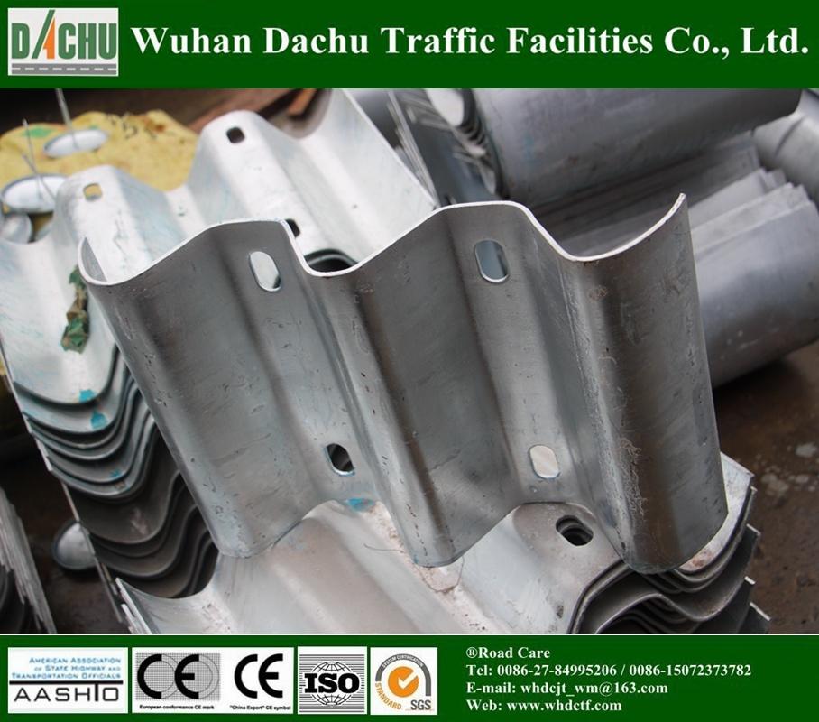 Powder Coated/Galvanized Steel Thrie-Beam Guardrail