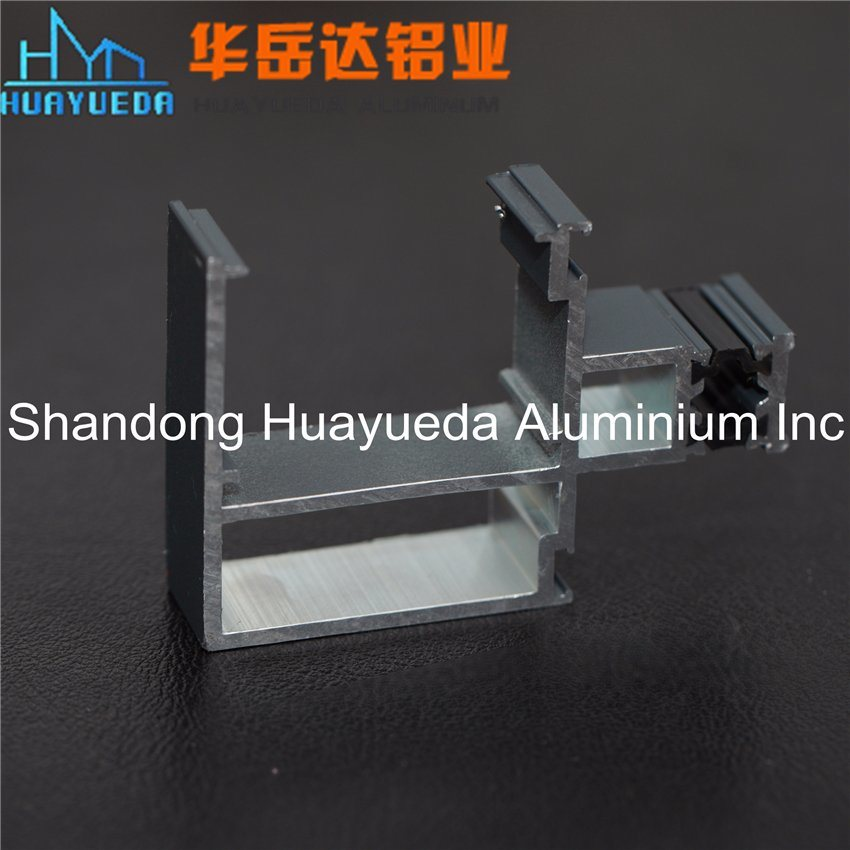 Curtain Wall Aluminium of Powder Coating Aluminium Extrusion Profiles