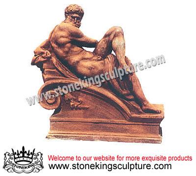 Cast Iron Statue, Garden Statue, Garden Decoration (SK-5018)