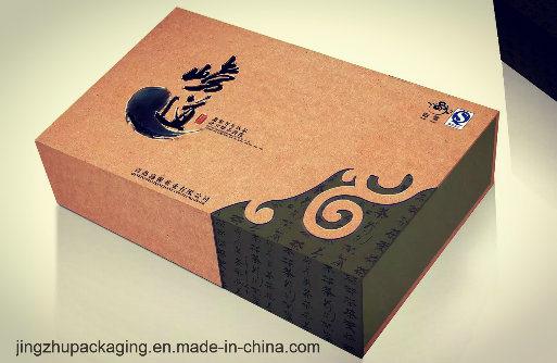 Rectangle Kraft Paper Packaging Box
