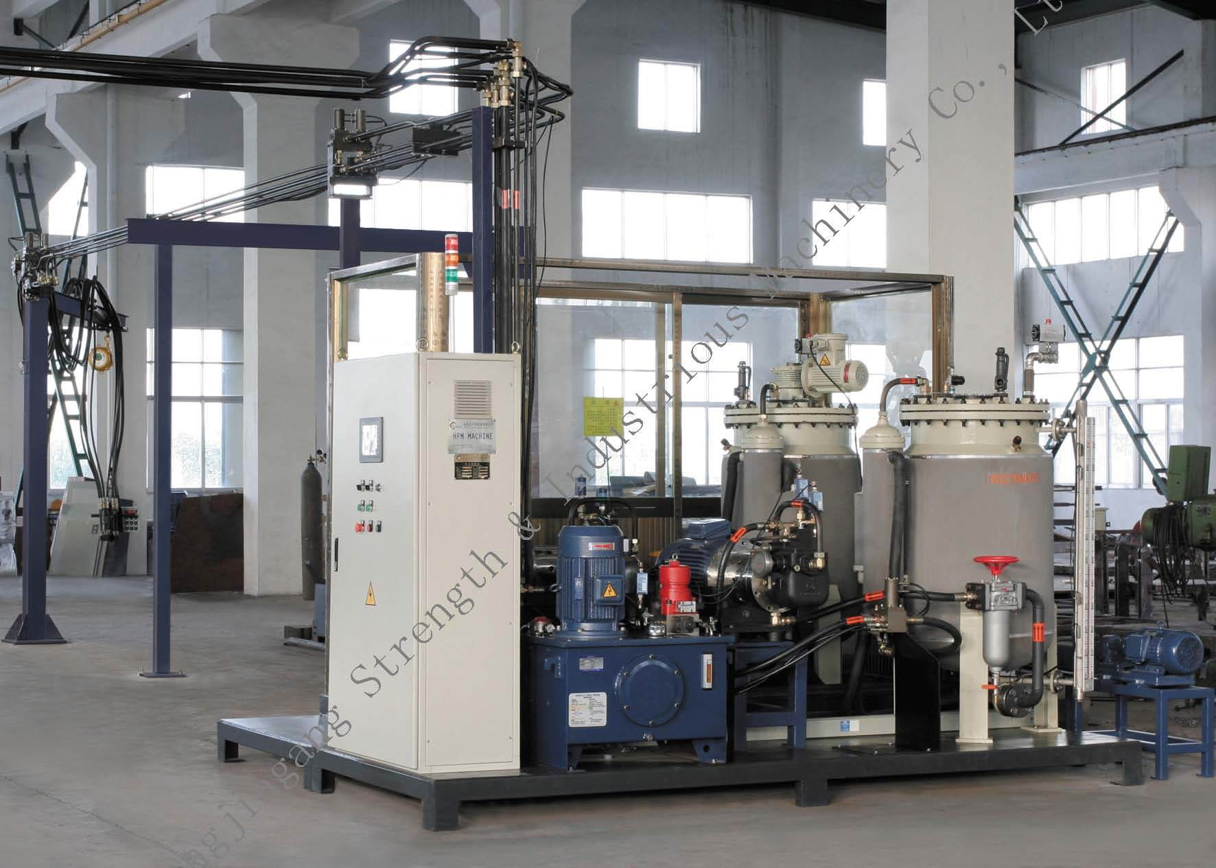 Double Mixing-Head High Pressure Foaming Machine With Cyclopentane