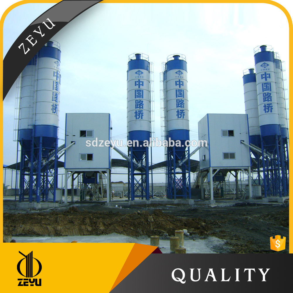 120m3/H Concrete Pipes Mobile Batching Plant
