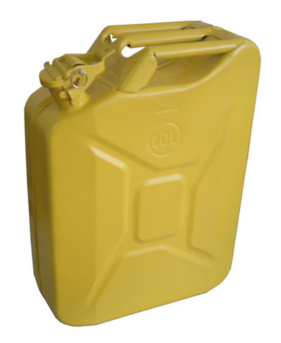 china metal jerry can 20l yellow gc 20x0 6 china. Black Bedroom Furniture Sets. Home Design Ideas