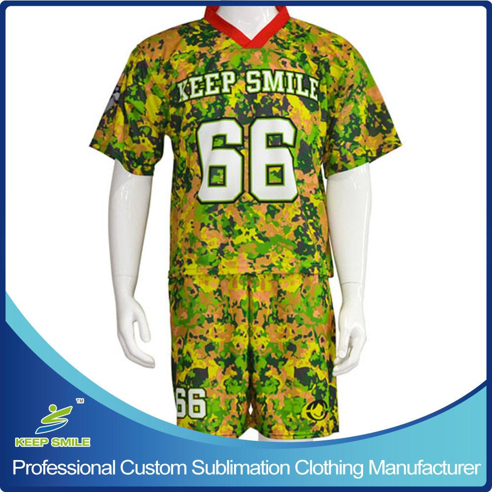 Custom Sublimation Lacrosse Sports Suit