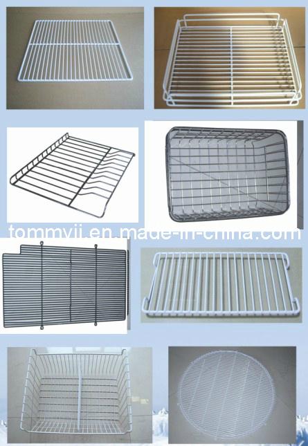 High Quality PE Coated Refrigerator Shelf Basket