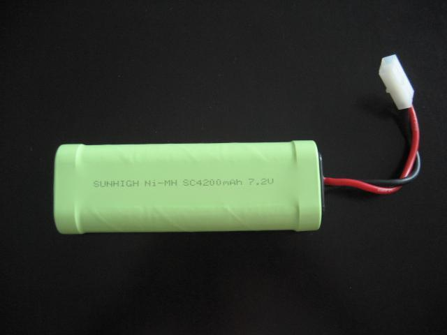 Ni-MH R/C battery pack