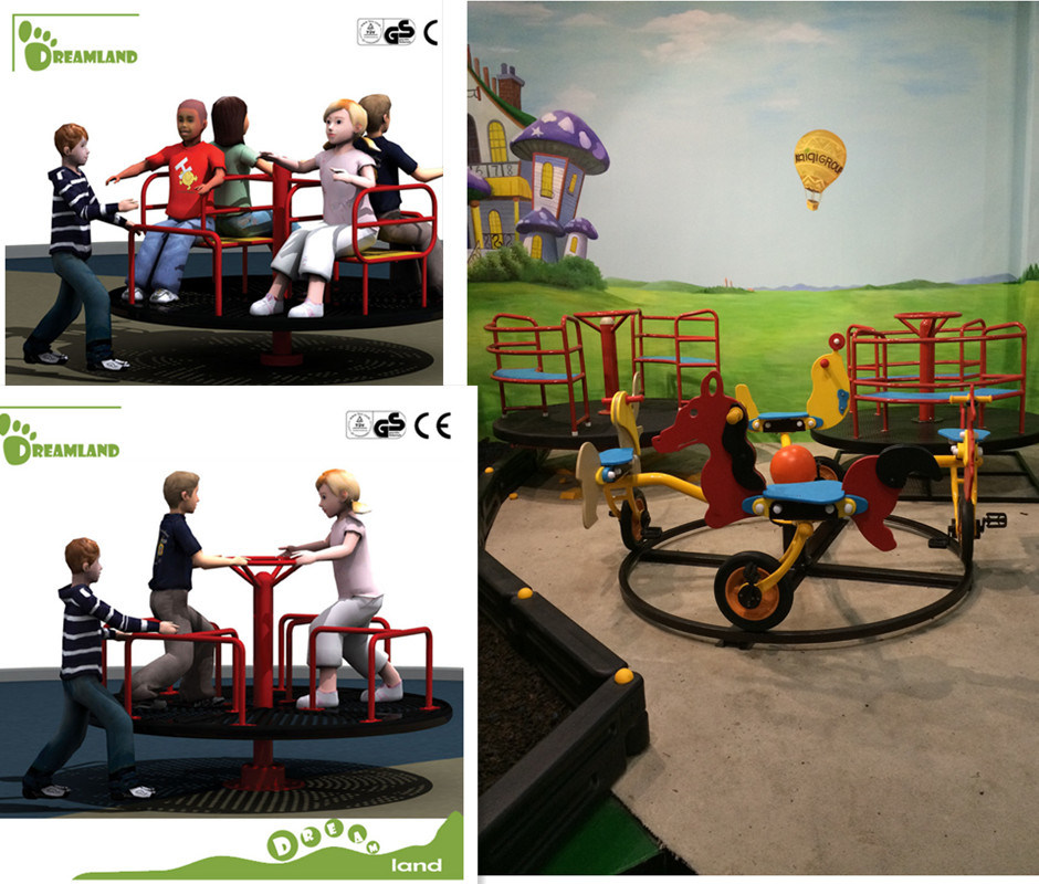Eco Friendly Relaxing Merry Go Round Equipment for Sale