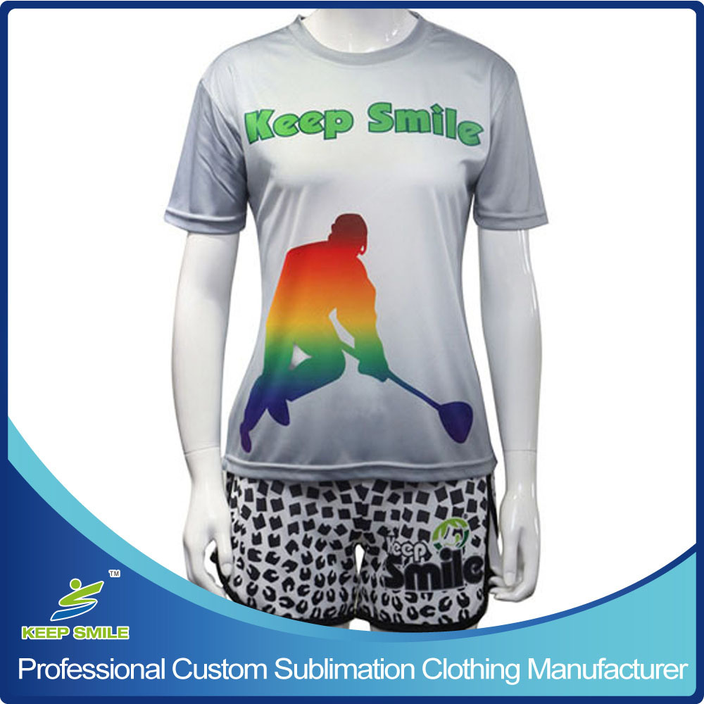 Custom Sublimated Girl′s Sports Garment for Lacrosse Game