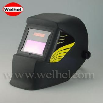 Solar Powered Auto-Darkening Welding Helmet (WH4400 Black)