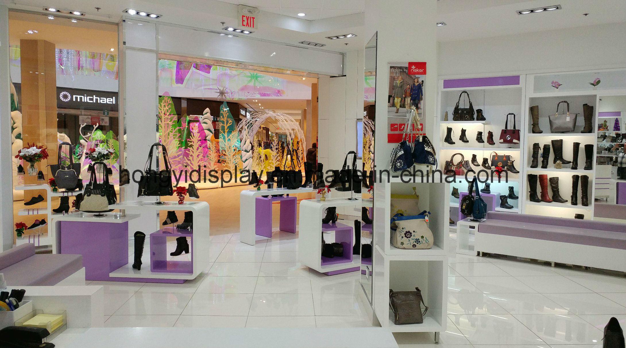 Display Stand for Shoes Display Kiosk