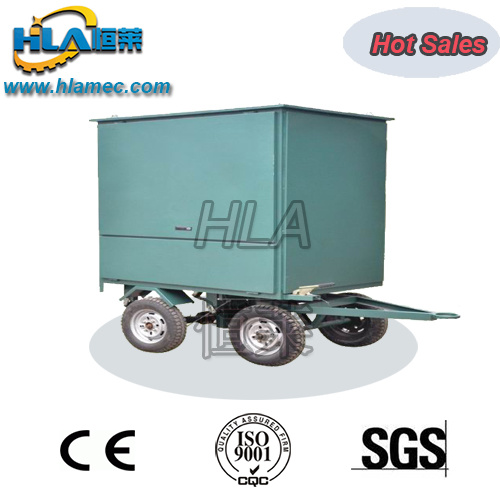 Mobile Vacuum Transformer Oil Recycling Plant