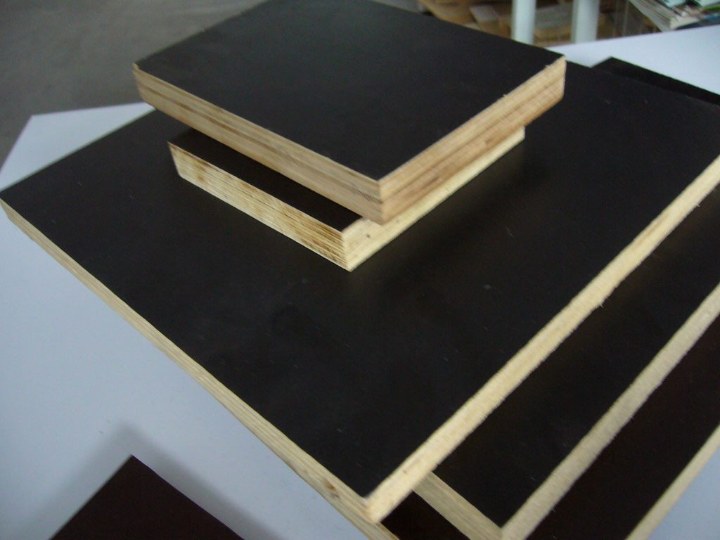 Poplar Core 12mm Brown Black Film Faced Plywood
