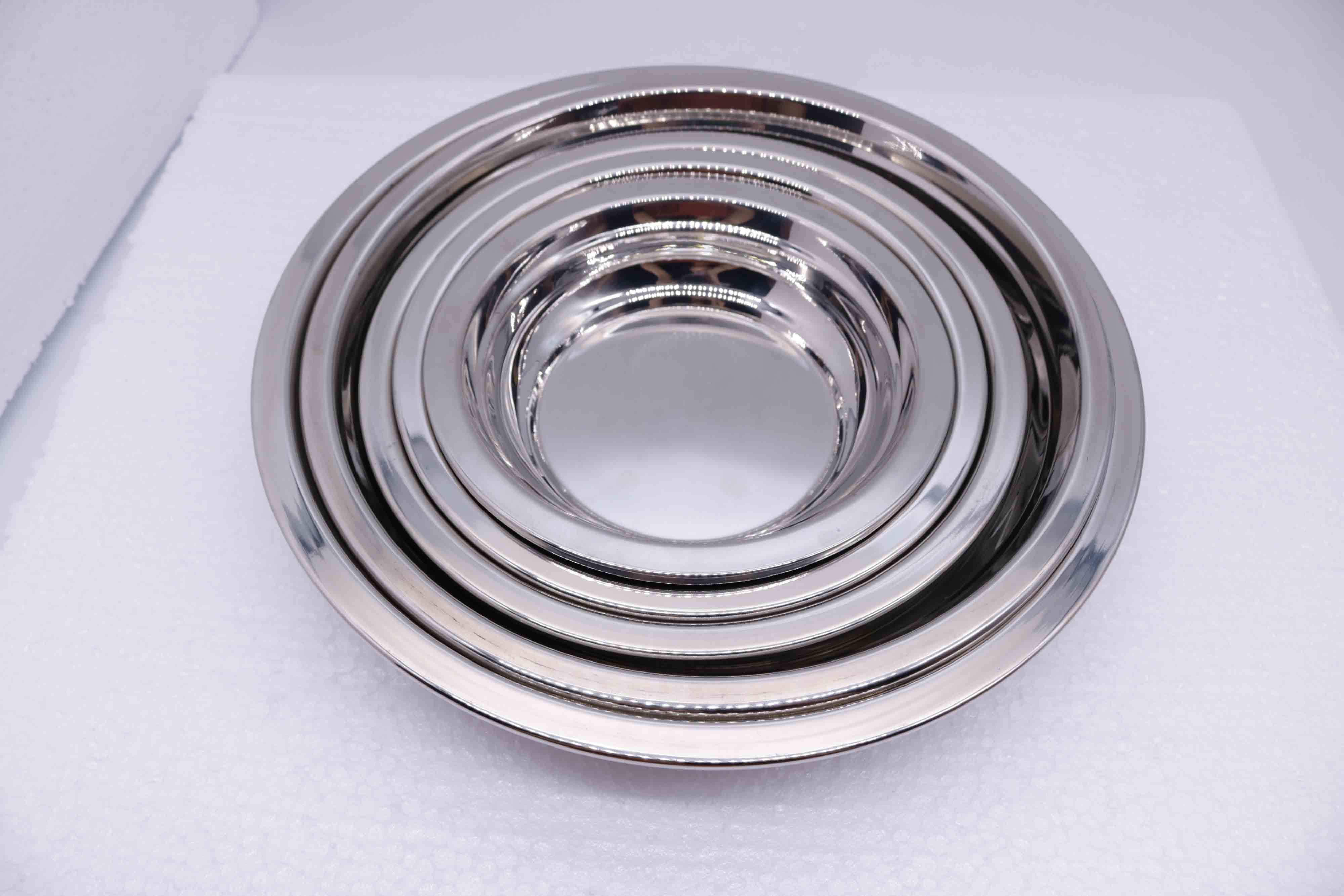 Top Grade 304 (18-8) Stainless Steel Plate for Tableware