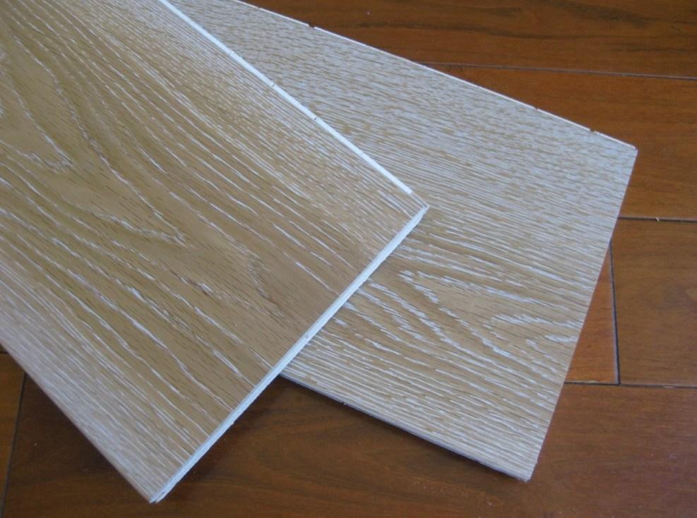 Natural Oiled Oak Engineered Wood Parquet / Hardwood Flooring