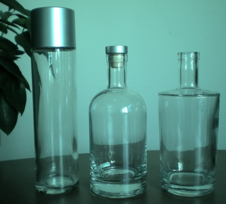 Custom Made Triangle Glass Bottles