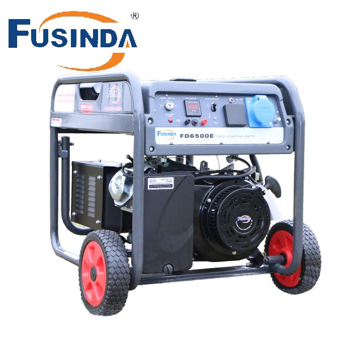 AVR Alternator Generator Set Fusinda Fd6500e