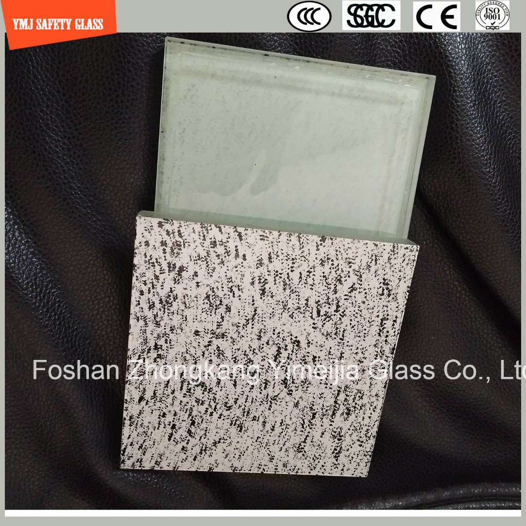 Acid Ethced, Silk Screening UV-Resistance Laminatedled Lignt Glass