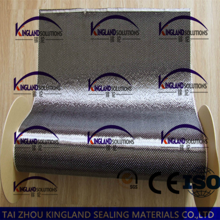 (KLA202) Aramid Fiber and Carbon Fiber Mixed Spun Cloth