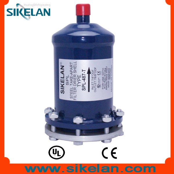 Liquid Line Refrigeration Spare Parts Filter Cylinder Filter Shell Spl-487 Replaced Core Type