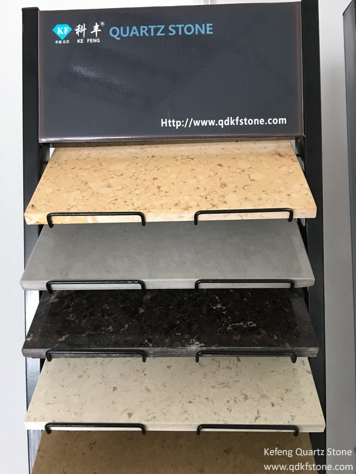 KF-403 Caesarstone Shitake Color Grey Engineered Stone Slate Quartz Stone
