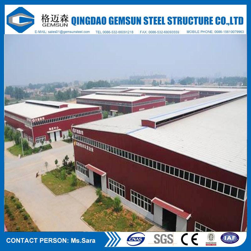 China Supplier Prefab Steel Structure, Light Steel Structure Warehouse