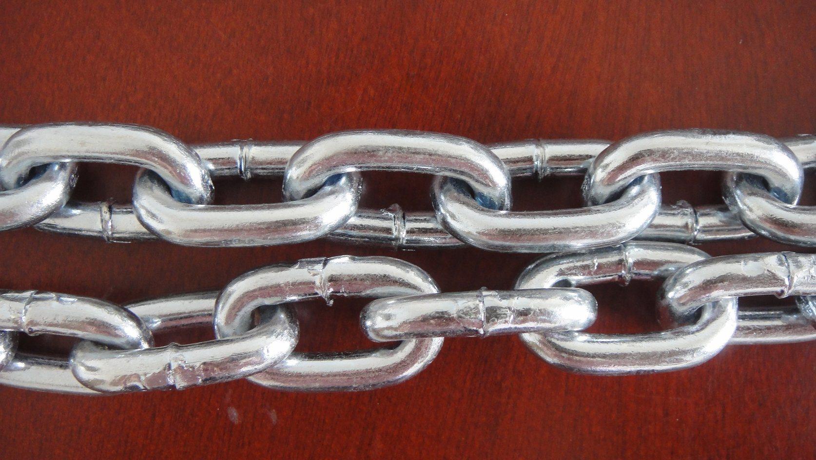 Galvanzied Welded Steel Long Link Chain