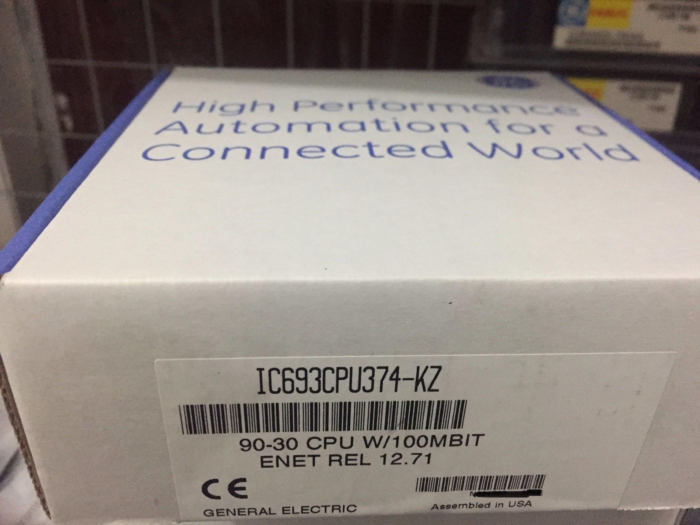 Original Ge Programmable Logic Controller IC693CPU374