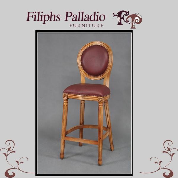 Muebles antiguos franceses silla de la barra 9610 for Muebles franceses