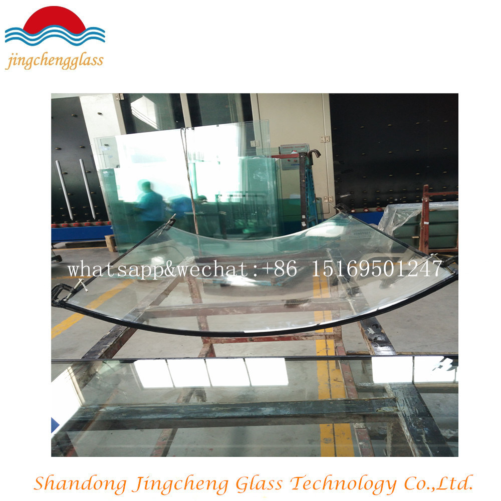 Curtain Wall Low E Insulated Glass/3 Glass/3 Glass Hollow Lowe