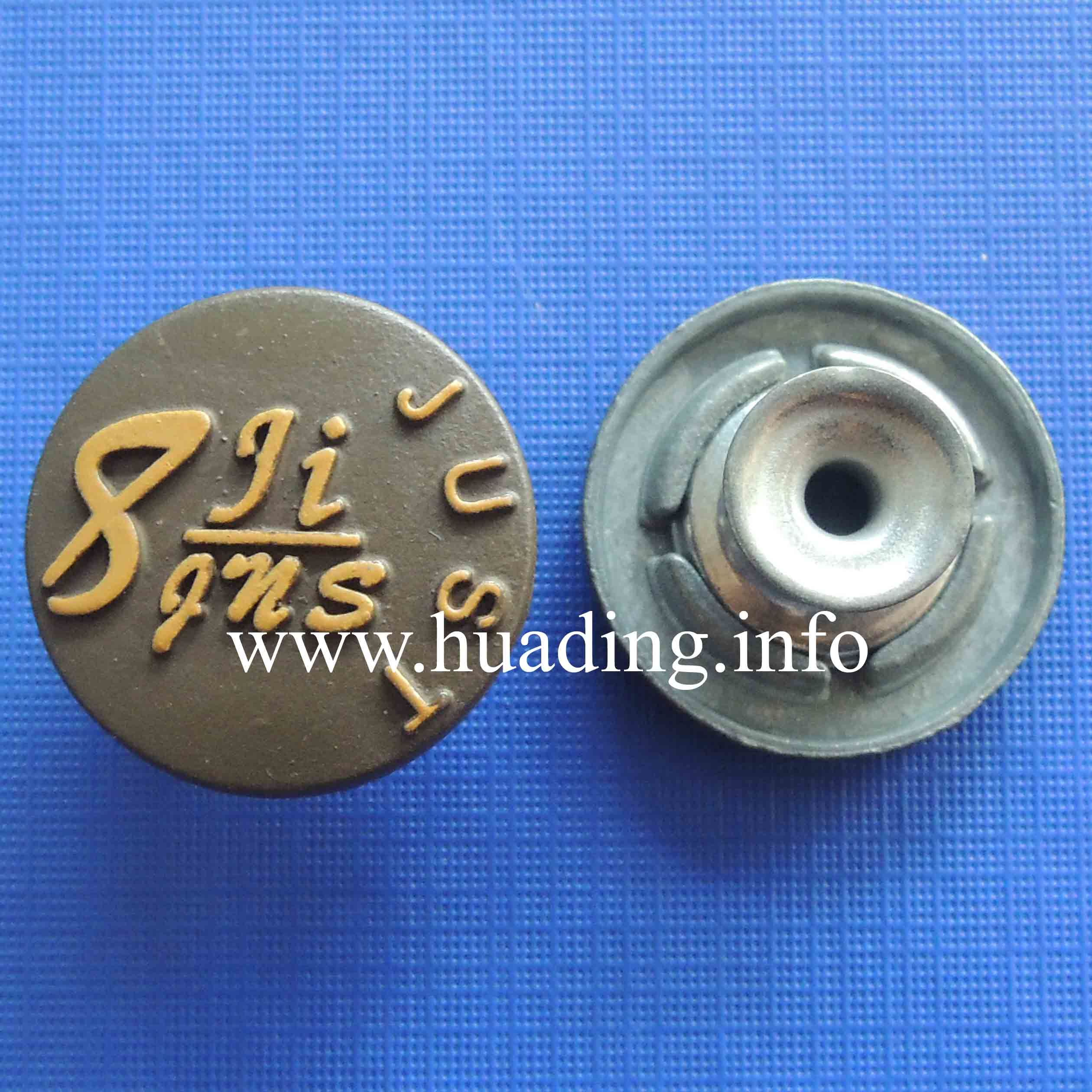 Good Quality Fabric Metal Button for Decoration