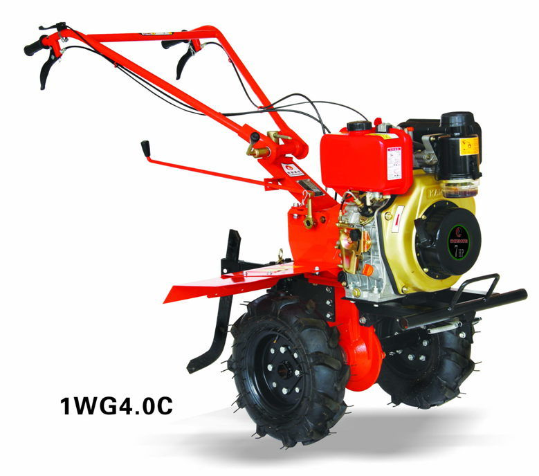 7HP Diesel Power Tiller, Farm Machines