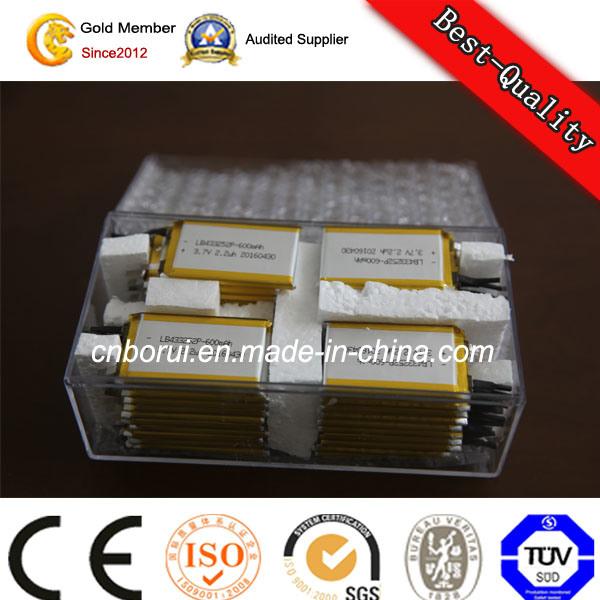 3.7V Li-ion Battery for Camera/ Phone/iPad/ Laptop/ GPS/DVD/TV