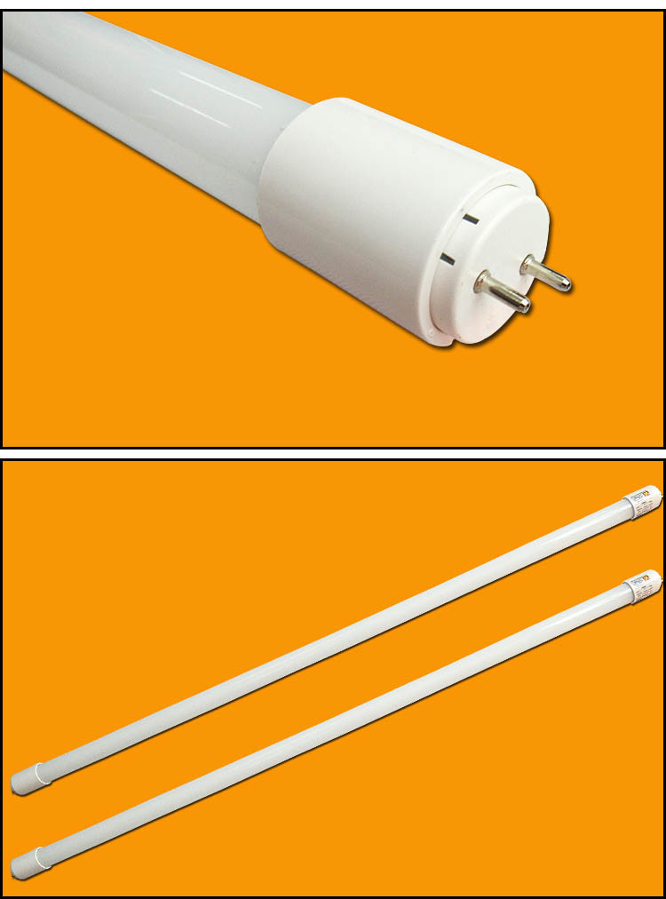 Plastic LED Tube T8 1.2m