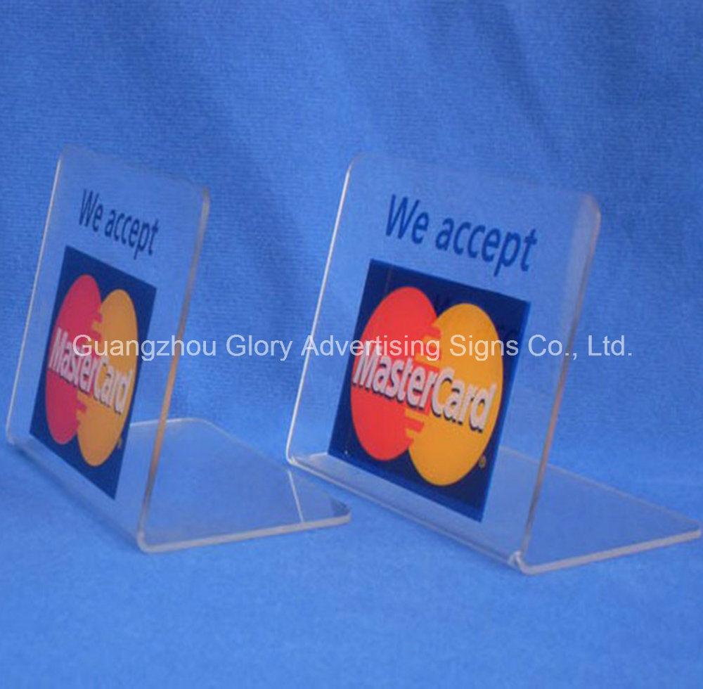 Plastic Acrylic Holder/Acrylic Brochure Holder/Acrylic Menu Holder