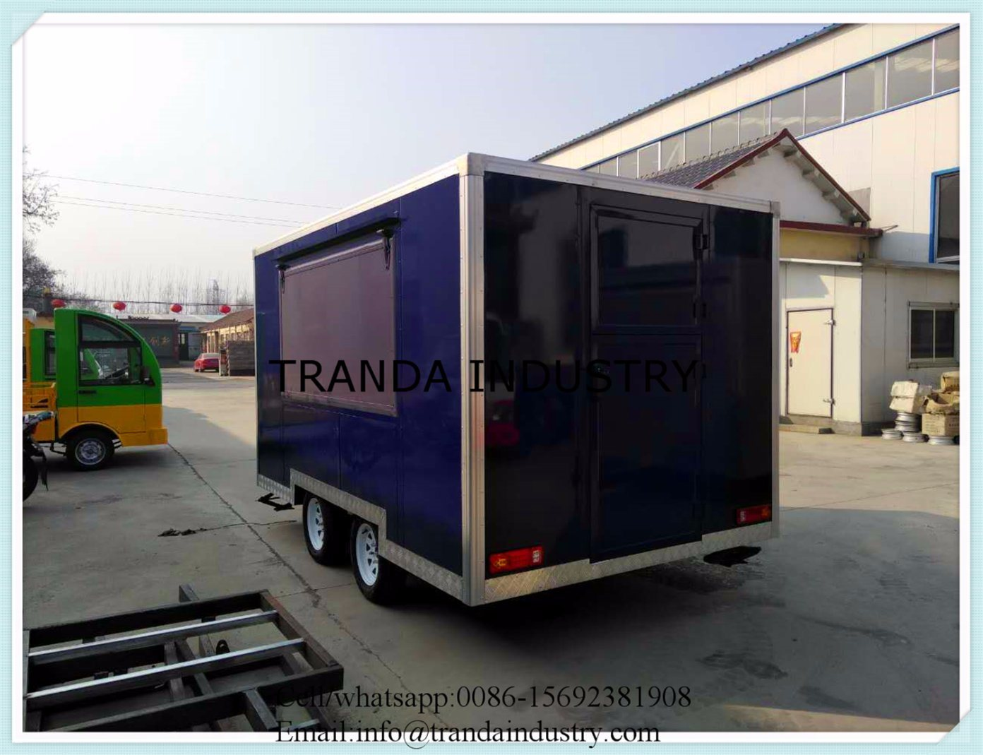 Luxury Food Trailer with High Quality Chassis