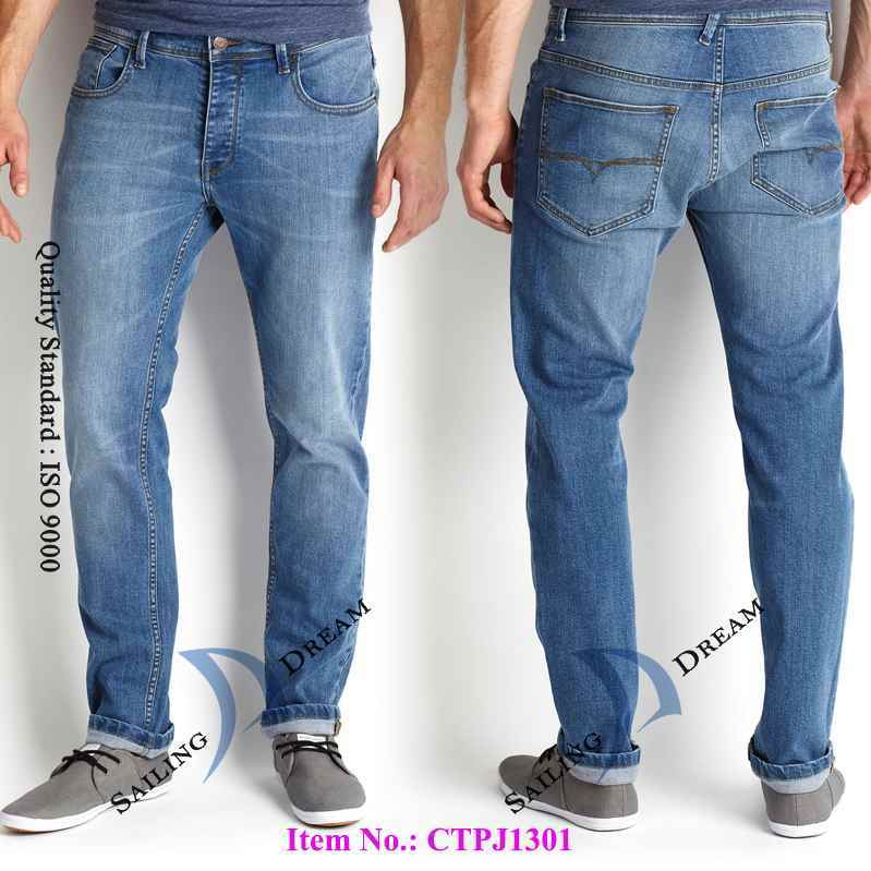 China 2014 Fashion Jeans Men′s Jean Pants Pj1392 - China Fashion ...
