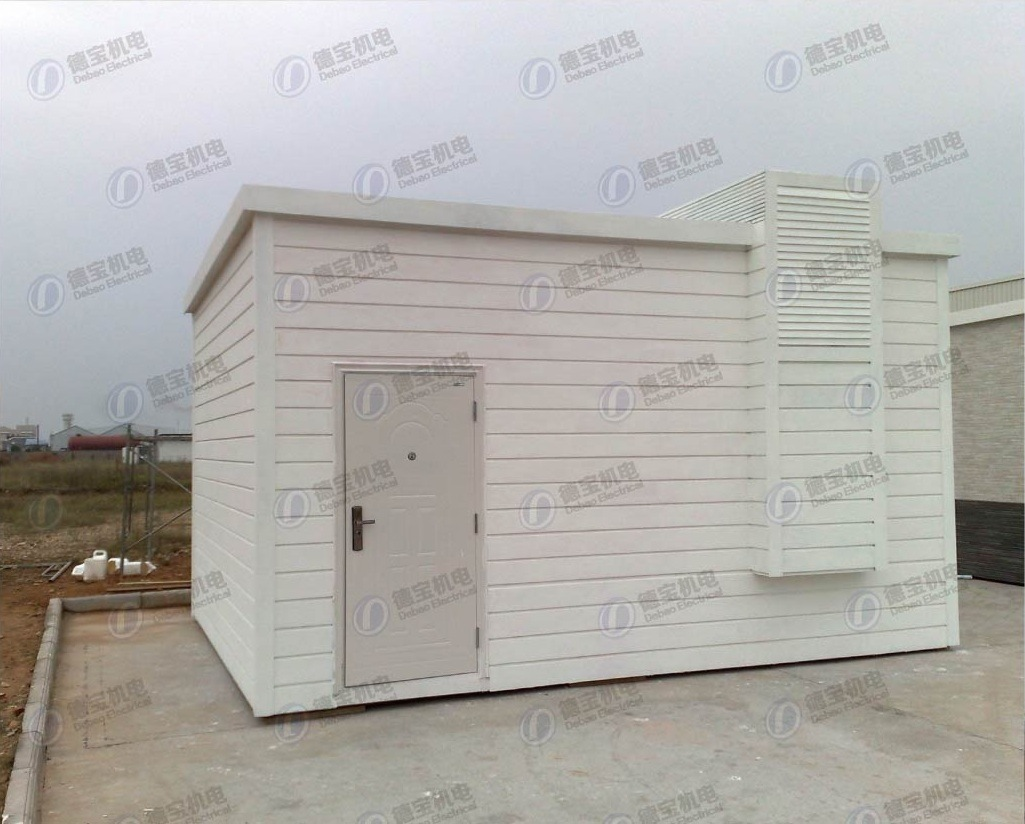 Fully Equipped Telecom Shelter