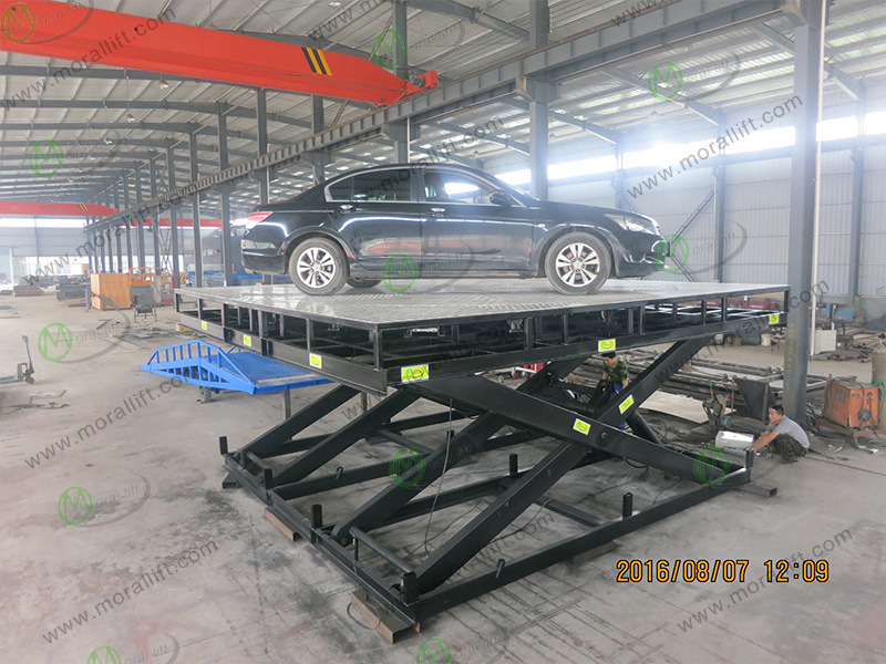 Portable Hydraulic Rotary Car Parking Lift