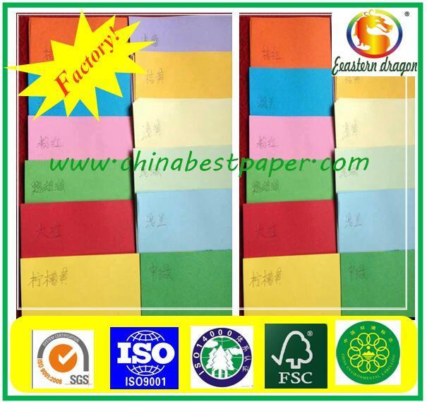 Colorful Kraft Paper For Shopping Bag