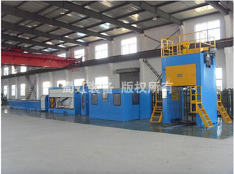 Aluminum & Alloy Rod Breakdown Machine (SH450/13)