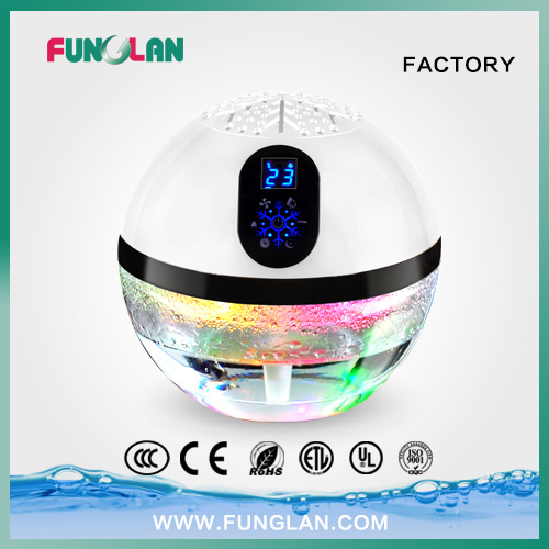 Water Ionizer Air Freshener Aromatic Rainbow Purificador De Aire