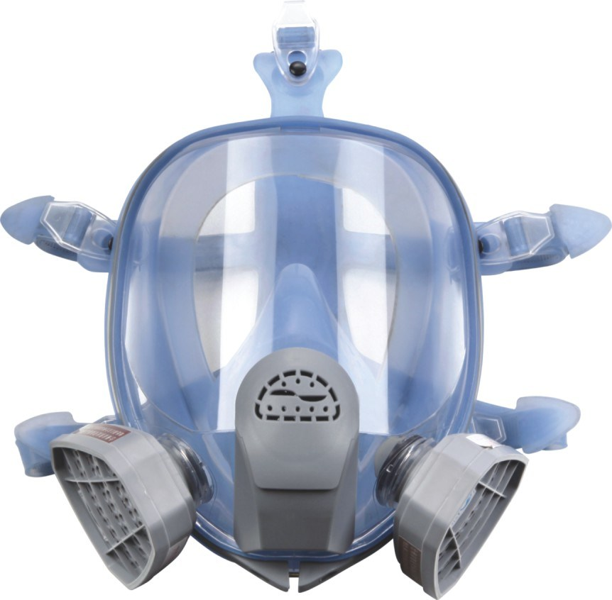 Silicone Full Face Gas Mask (respirator) (9900A)