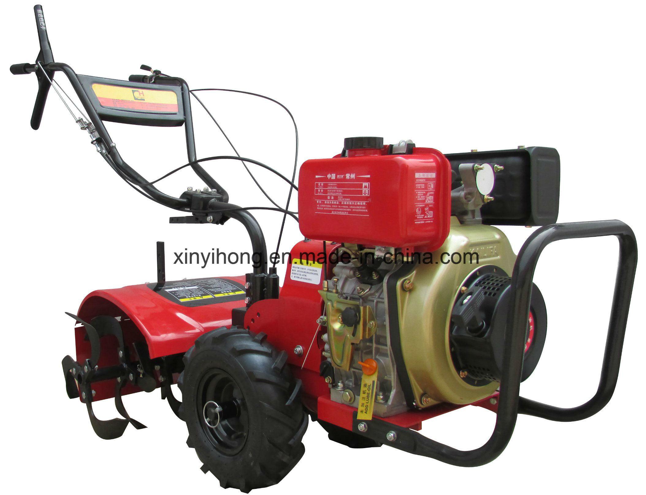 7HP Diesel Rotary Tiller with 178f Engine Power Tiller